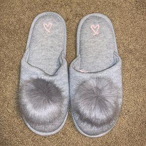 Victoria's Secret Pom-pom Slippers